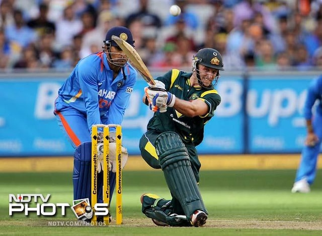 1st ODI: Australia vs India