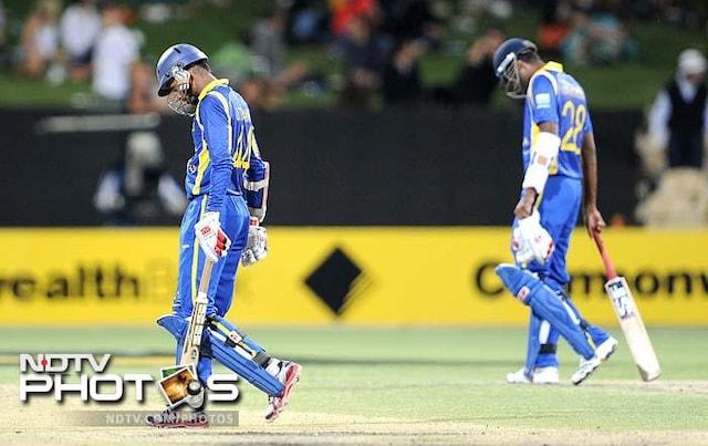 Australia beat Sri Lanka to win CB series