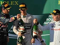 Nico Rosberg wins Australian Grand Prix