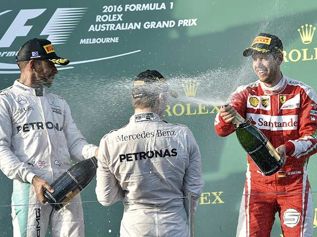 Australian GP: Nico Rosberg Starts New Season With a Bang