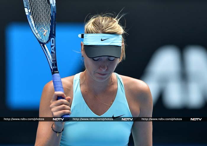 Australian Open, Day 8: Sharapova shocked, Nadal, Federer cruise