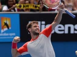 Photo : Australian Open, Day 8: Sharapova shocked, Nadal, Federer cruise