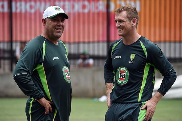 World Cup 2015: Aussies Stretch and Strain in Training Session