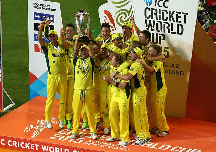 Aussies are World Champions, Paint MCG Green and Gold!