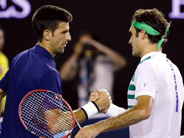 Photo : Australian Open Day 11: Novak Djokovic Maintains Ascendancy Over Roger Federer as Serena Williams Enters Final