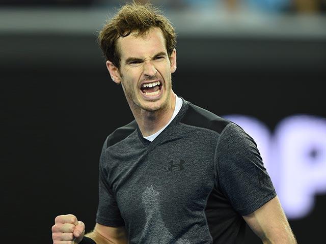 Photo : Australian Open Day 6: Tough Win For Andy Murray as Garbine Muguruza, Ana Ivanovic Stunned