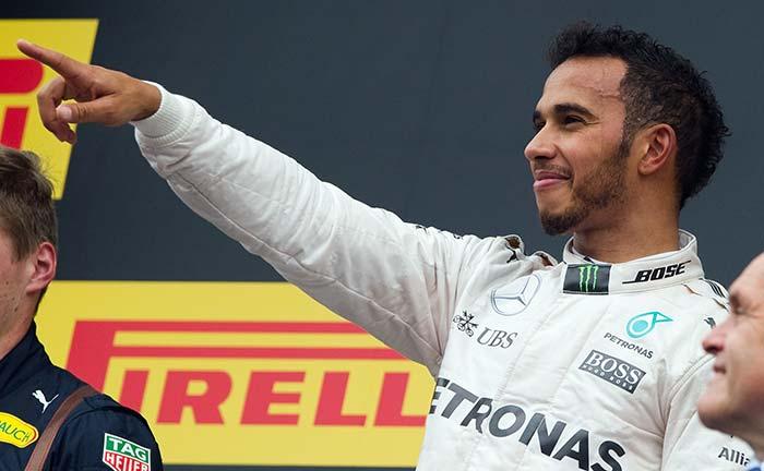 Austrian GP: Lewis Hamilton Rides Luck to Win Title