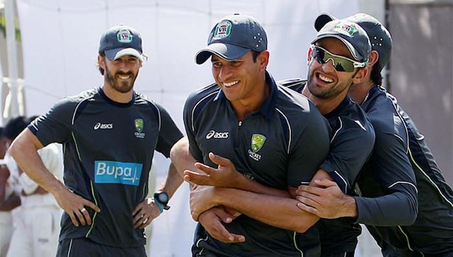 Training hard ahead of the final Test