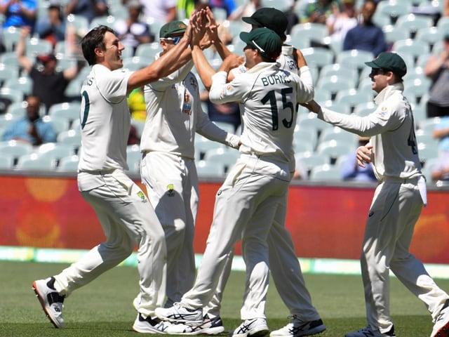 Photo : पहला टेस्ट: ऑस्ट्रेलिया ने भारत को 8 विकेट से हराया