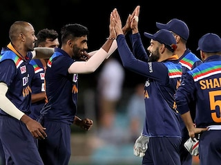 3rd ODI: India Beat Australia By 13 Runs To Register First Win Of Tour