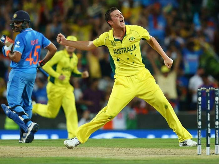 Pick your cricket team India or Australia and see if you can be the victor in this epic cricket match