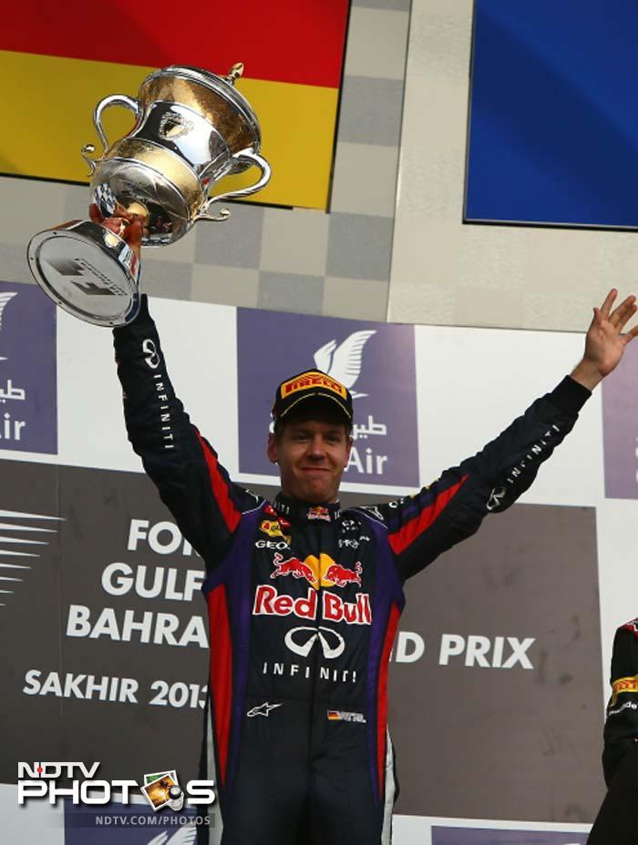 Bahrain Grand Prix: Sebastian Vettel wins second race this season