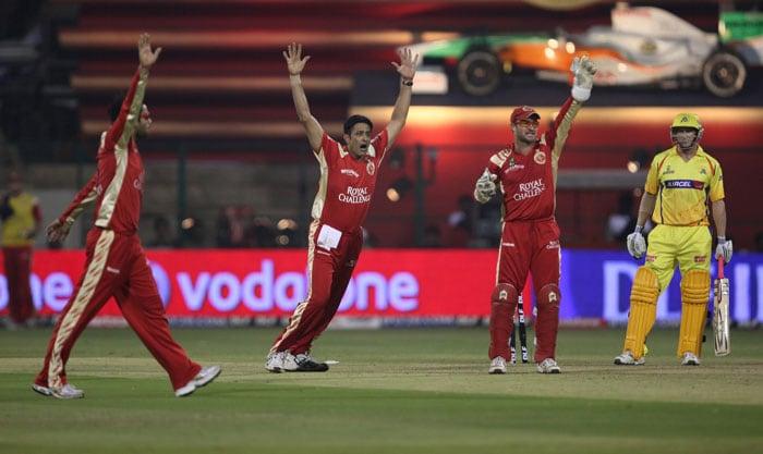 IPL 3: Bangalore vs Chennai