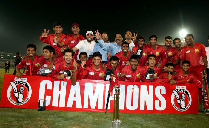 Jain University claim inaugural TUCC trophy