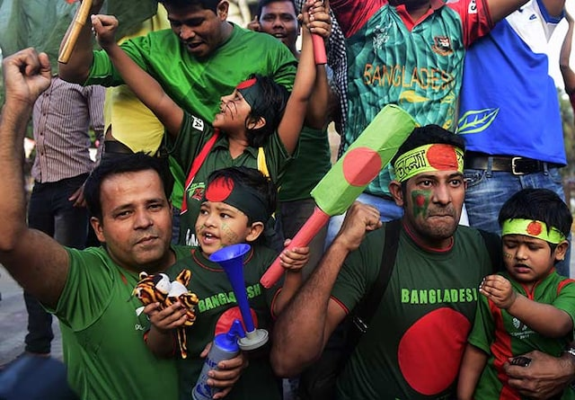 World Cup: Bangladeshs Historic Win Sparks Wild Celebrations in Dhaka