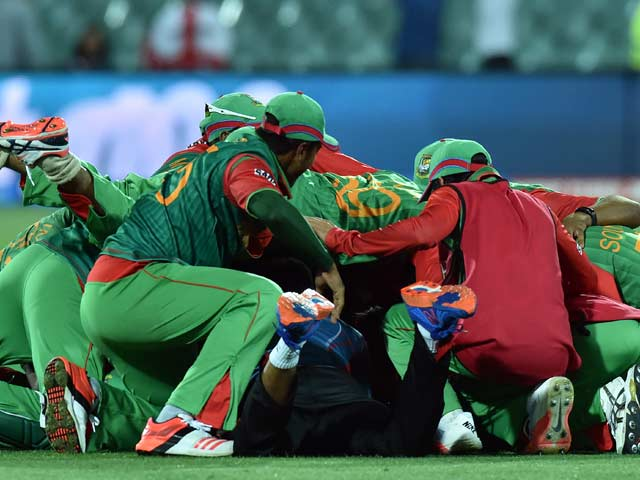 World Cup: Bangladesh's Historic Win Sparks Wild Celebrations in Dhaka