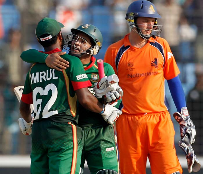World Cup: Bangladesh vs Netherlands