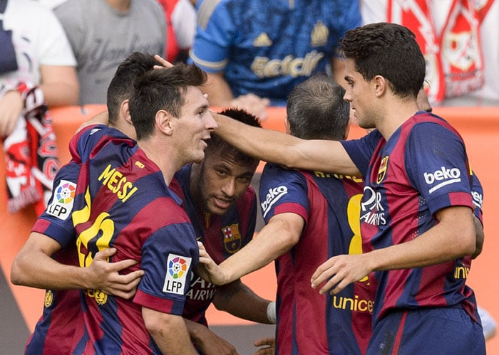 La Liga: Messi and Neymar Hunt in Pairs, Valencia Stun Atletico