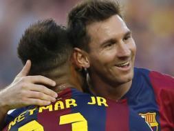 Photo : La Liga: Messi and Neymar Hunt in Pairs, Valencia Stun Atletico