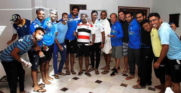 India Has Tough Road To Champions Trophy: Hockey Champions Trophy: Birthday Bash For Team India