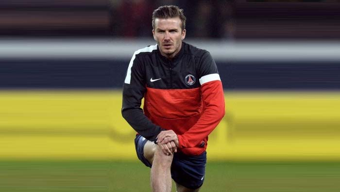 David Beckham shows his mettle in first full-game for Paris St Germain