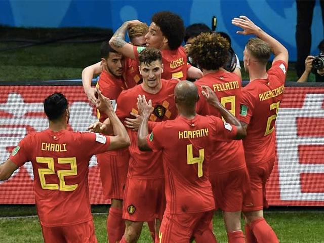 फोटो : पांच बार फीफा वर्ल्ड कप जीतने वाली ब्राजील को बेल्जियम ने 2-1 से हराया