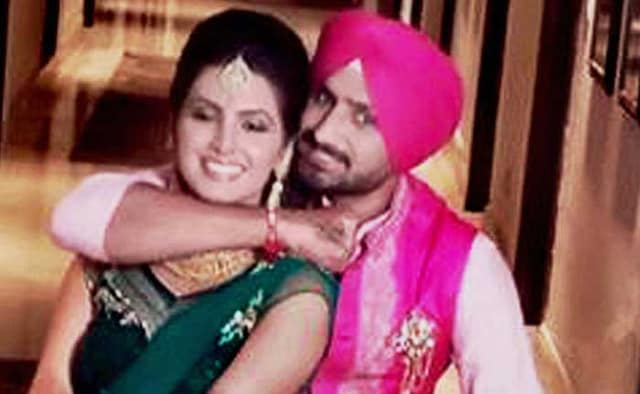 The Glitz and Glamour of Harbhajan Singh, Geeta Basras Sangeet and Mehendi Ceremony