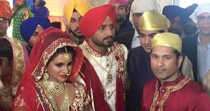 Harbhajan Singh, Geeta Basra Tie the Knot