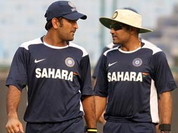 Photo : Dhoni vs Sehwag and other famous cricket spats