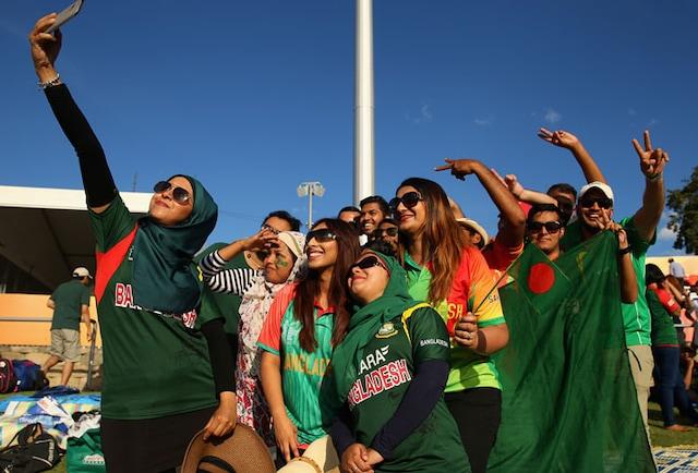 Fans Flock to Cheer Bangladesh vs Afghanistan