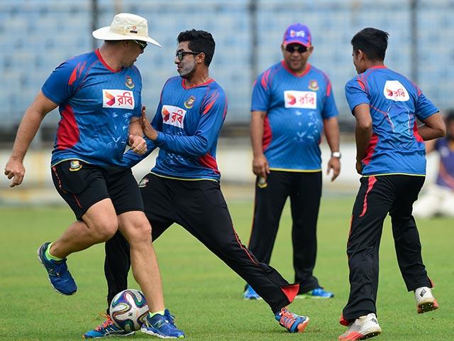 Bangladesh Train Hard Ahead of Big Test Against India