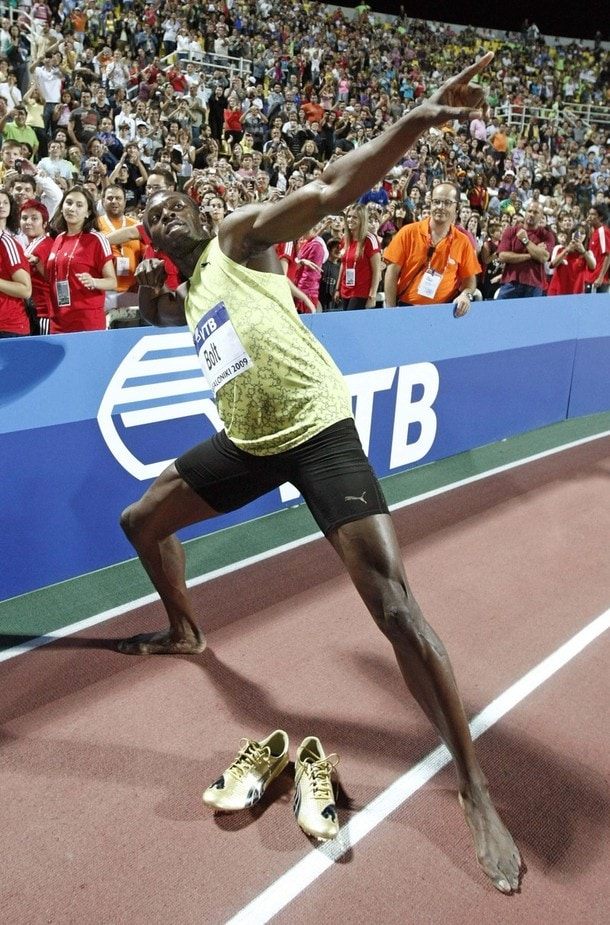 Usain Bolt: At lightening speed