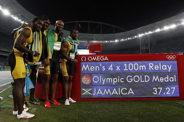 Rio 2016: Usain Bolt Stamps Class, Then Parties After Final Race at Olympics