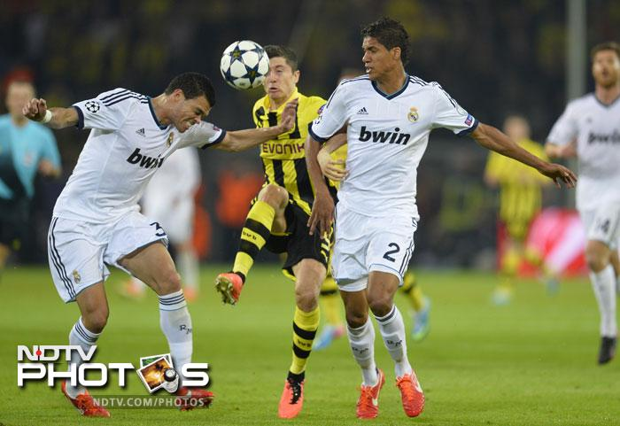 UEFA Champions League: Lewandowski, Dortmund give Real a hiding