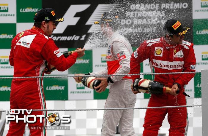 Brazilian GP: Button takes title, Vettel the Championship