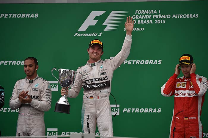 Nico Rosberg Wins Brazilian Grand Prix