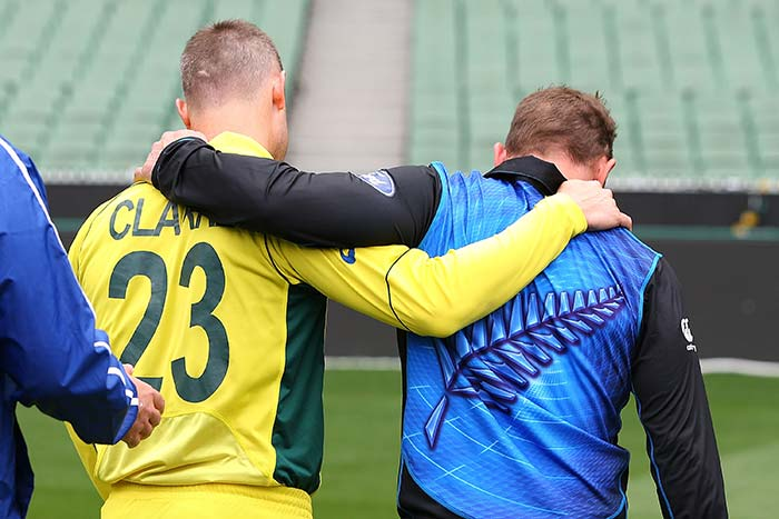 World Cup Final: Michael Clarke and Brendon McCullum Ready for Battle