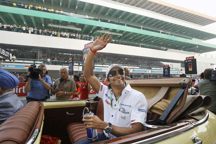 Indian GP: Celebrations unleashed