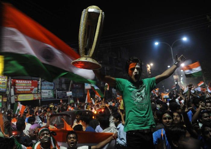 Fan frenzy as India wins!