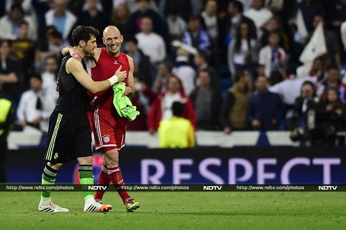 Champions League: Real Madrid take first leg advantage vs Bayern Munich