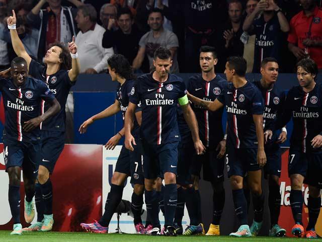 Photo : Champions League: Paris Saint-Germain Stun Barcelona 3-2, Roma Draw Man City