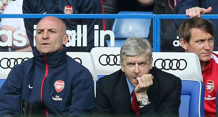 EPL: Chelsea ruin Arsenal's '1000th party' for Wenger