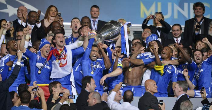 Chelsea win Champions League title