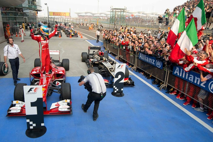 Fernando Alonso takes honours in Chinese Grand Prix