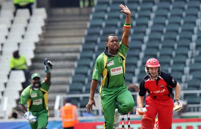 CLT20: Redbacks vs Guyana