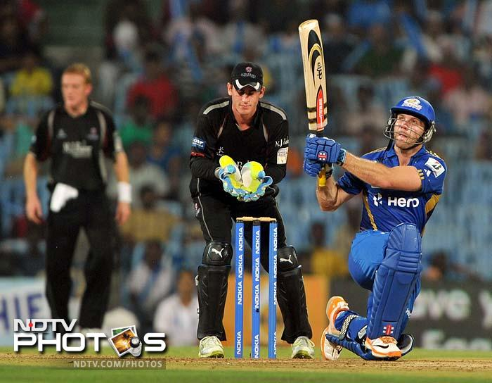 Mumbai Indians vs Somerset