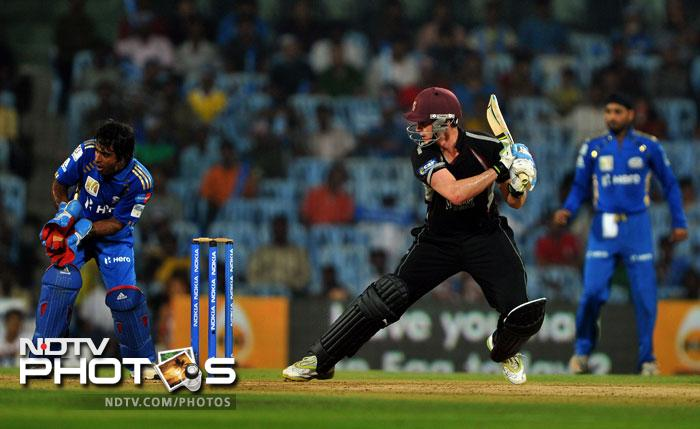 Mumbai Indians down Somerset, enter final
