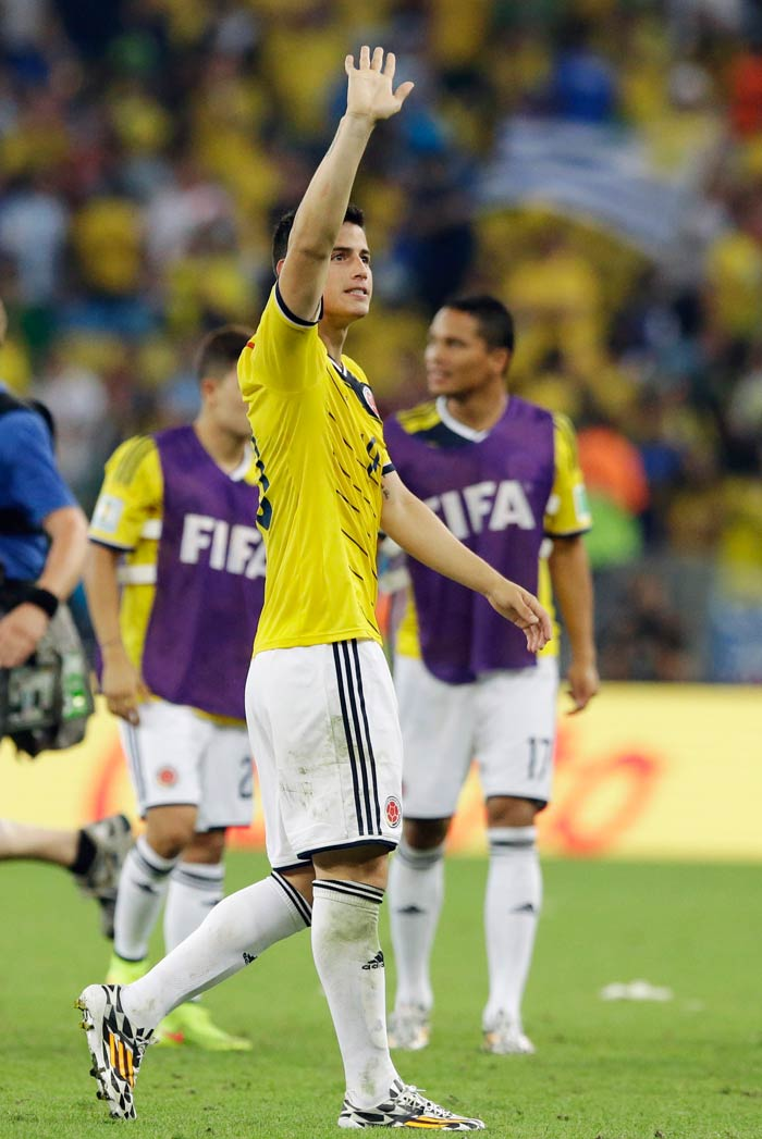 FIFA World Cup: Colombia Dance Their Way Into The Quarters