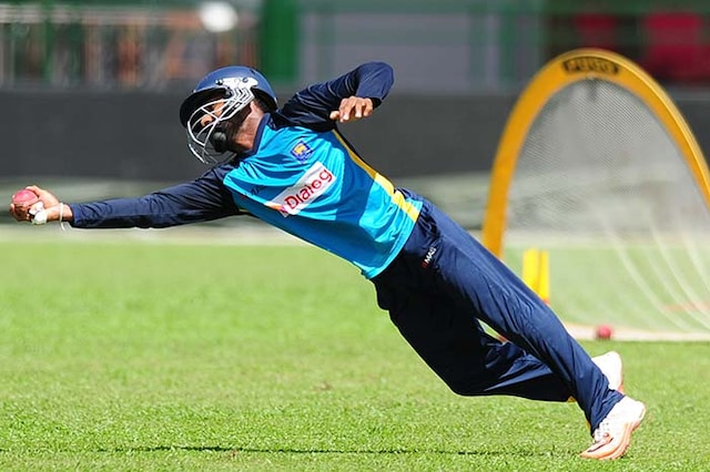 Sri Lanka Cricketers Sweat it Out Before Colombo Test vs India