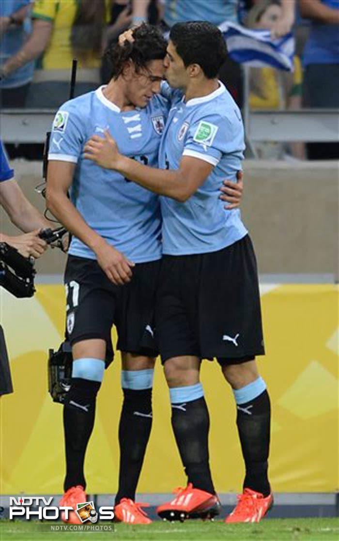 Confederations Cup, semi-finals: Brazil edge Uruguay
